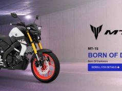 Motor Yamaha Mt-15