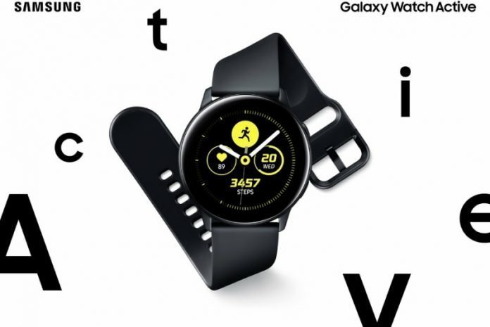 galaxy watch active spesifikasi
