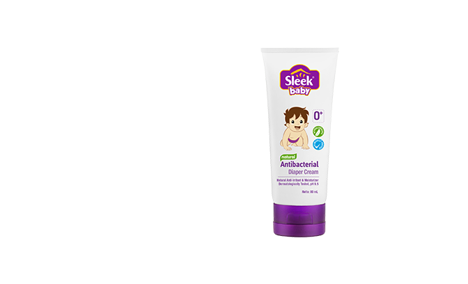 sleek baby diaper cream