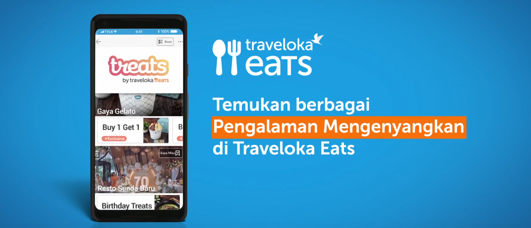 traveloka treats